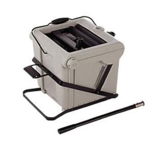 モップ絞り器 ステップタイプ 水切り CE-438-000-0|lookit