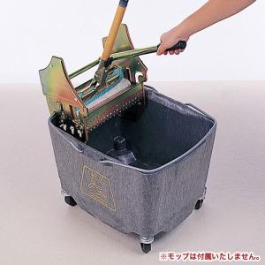 モップ絞り器 セット キャスター脚 学校 CE-455-100S|lookit