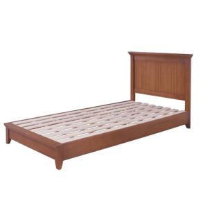 ベッド ベッドフレーム 木製ベッド 木製フレーム シングルベッド 寝具 シングル シンプル おしゃれ モダン 天然木 GUY-656|lookit