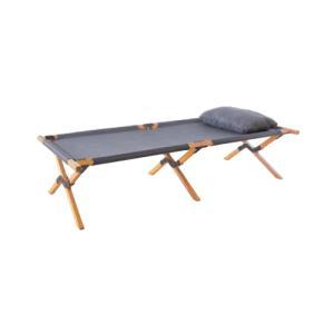 コット 簡易ベッド 折りたたみベッド 木製フレーム 天然木フレーム 休憩 リフレッシュ 北欧 ナチュラル ベランダ フォールディングベッド NX-935|lookit