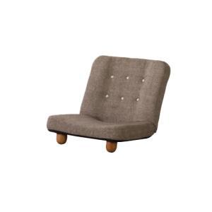 座椅子 脚付き座椅子 フロアソファ ローソファ フロアチェア 布張りチェア リクライニングチェア リビング家具 チェア ソファ スマート RKC-930|lookit