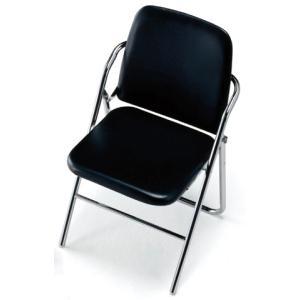 パイプイス 椅子 高級 集会 会議 2本脚 連結 SCF12-CX|lookit
