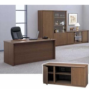 サイドボード 書棚 書庫 ローボード 木製 キャビネット 役員用家具 VP-11SB|lookit