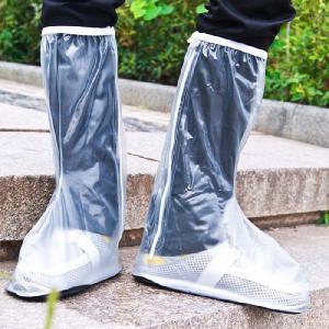 レインブーツ/カバー/レインウエア/透明/メンズ/レディース/シューズカバー/レインシューズ/靴カバー くつカバー 防水 シューズカバー 男女兼用|lookume