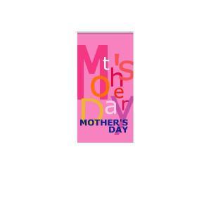 『MOTHER'SDAY』 縦型フラック サイズ1L:450×900 looky