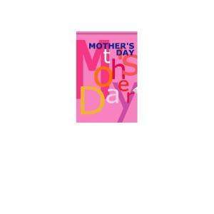 『MOTHER'SDAY』 屋外用タペストリー サイズ1S:600×900|looky