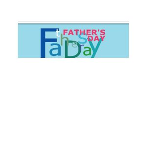 『FATHER'SDAY』 横型フラック サイズ1L:900×300|looky
