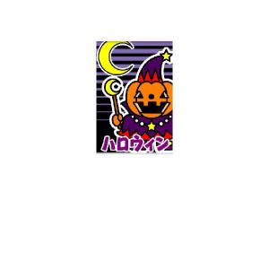 『ハロウィン』 タペストリー サイズ1S:600×900|looky