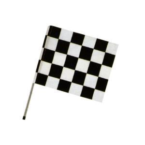 チェッカーフラッグ黒 サイズ:900×1200|looky