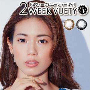 カラコン 2week 2ウィークビューティーベーシック1トーン1箱/6枚入 送料無料 ブラック ブラウン 2週間使い捨て 度あり 人気|loook