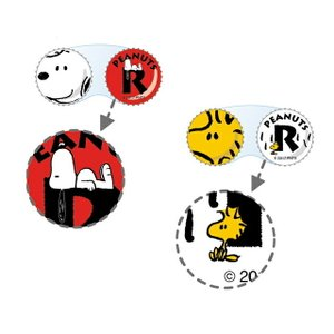 スヌーピー コンタクトレンズケース 日本製 Snoopy ウッドストック Woodstock  PEANUTS カラコン コンタクトレンズ ケア用品 人気|loook