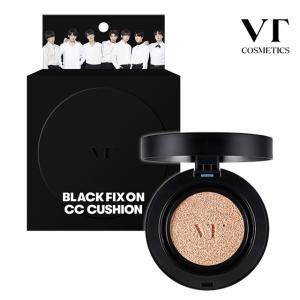 VT ブラックフィックスオンccクッション 韓国コスメ VTコスメティック カバークッション VT Black Fix On CC Cushion|loook
