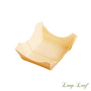 通気性・殺菌性に優れた天然素材のパッケージ「経木容器」 薬味入れや小さな器の代わりと、様々な用途にご...