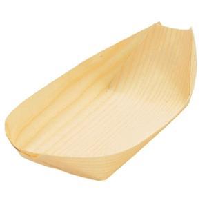 「たこ焼き」といえばこれ!通気性・殺菌性に優れた経木舟皿 いか焼きや焼きそばにも