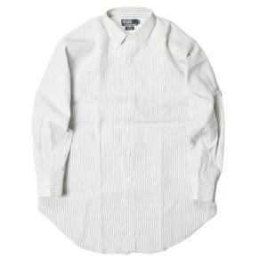 Polo by Ralph Lauren ポロバイラルフローレン 日本製 ストライプドレスシャツ 4...