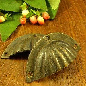 真鍮取っ手 簡単 施工 貝殻 モチーフ アジアン インテリア 雑貨 cpn loopsky