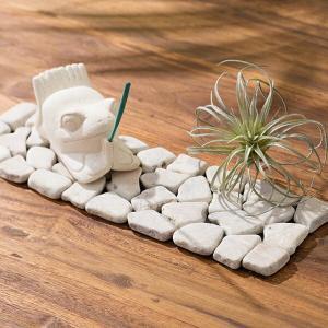ストーンマット 床 DIY おしゃれ 人気 ストーン マット ディスプレイ シート 天然石 アジアン雑貨|loopsky