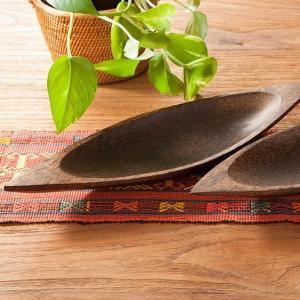 アジアン雑貨 バリ リゾート おしゃれ 木製 インテリア 収納 整理 メガネ 飾り 皿|loopsky