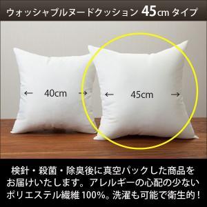 クッション ヌードクッション 45cm 国産 ウォッシャブル 洗濯可能 中身|loopsky