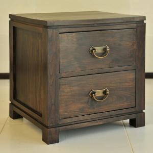 サイドテーブル アジアン家具 チーク無垢材 おしゃれ 幅45 木製 バリ リゾート インテリア モダン 高級感 チェスト 収納|loopsky