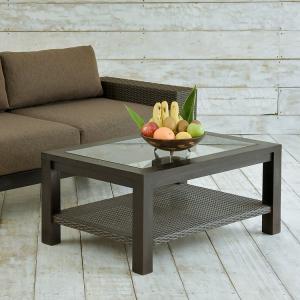 アジアン家具 ローテーブル 木製 おしゃれ 幅90cm チーク無垢材 バリ リゾート インテリア モダン 南国風 リビングテーブル|loopsky