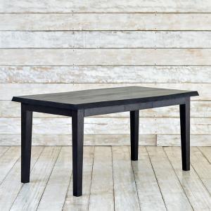 アジアン ダイニングテーブル 幅135cm 4人掛け ブラウン  木製 チーク 完成品 食卓 家具 天然木 バリ リゾート インテリア おしゃれ モダン セミオーダー対応|loopsky