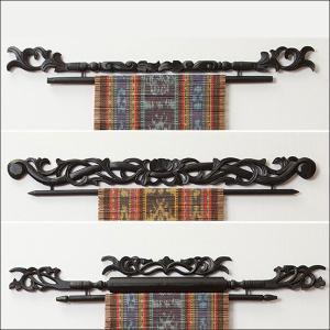 イカットハンガー アジアン雑貨 モダン 壁面 お...の商品画像