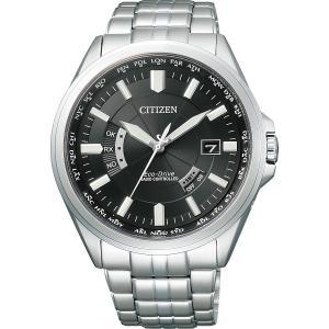 シチズン メンズ電波腕時計 ブラック CB0011-69E メンズ腕時計 お誕生日 プレゼント 父の日 退職記念品 入学祝い 卒業祝い 就職祝い|lotus-bear
