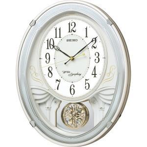 セイコー メロディ電波掛時計(18曲入)AM258W 結婚 出産お返し 節句 七五三内祝 新築祝 退職記念品|lotus-bear