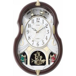 シチズン メロディ電波掛時計(12曲入)4MN496AZ06 結婚 出産お返し 節句 七五三内祝 新築祝 退職記念品|lotus-bear