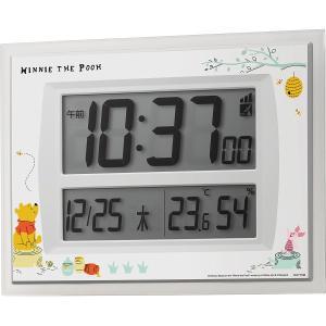 ディズニー くまのプーさん 電波時計(掛置兼用)8RZ206M003 結婚 出産お返し 節句 七五三内祝 新築祝 退職記念品|lotus-bear