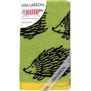 リサ・ラーソン カラフルシリーズ  ウォッシュタオル グリーン 結婚内祝 出産お返し 節句 七五三内祝 お礼 入園 入学お返し|lotus-bear