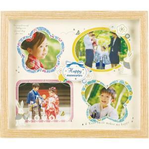 メモリア キッズフレーム 4窓 KP-31291 ベビー用品 出産祝 誕生祝い 初節句祝 お祝い 内祝 お返し|lotus-bear