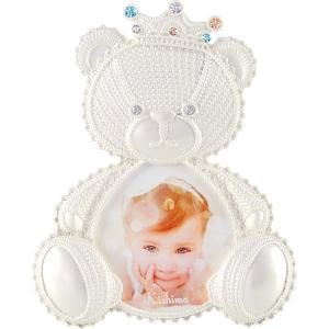 クロシェ ベビーフレーム KP-31318 ベビー用品 出産祝 誕生祝い 初節句祝 お祝い 内祝 お返し|lotus-bear