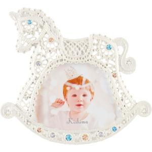 クロシェ ベビーフレーム KP-31316 ベビー用品 出産祝 誕生祝い 初節句祝 お祝い 内祝 お返し|lotus-bear