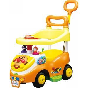 アンパンマン よくばりビジーカー2 押し棒+ガード付き おもちゃ 出産祝い 初節句お返し 七五三祝い お誕生日 クリスマス プレゼント|lotus-bear