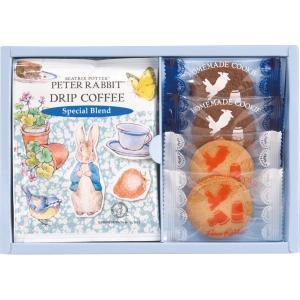 ピーターラビット コーヒー&スイーツギフト PSG-5 お菓子 焼き菓子詰合せセット お中元 お歳暮 結婚内祝 出産お返し 快気祝 お礼 香典返し|lotus-bear
