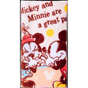 ディズニー マイルドディズニー フェイスタオル ミッキー&ミニー 結婚 出産お返し 節句 七五三内祝 お礼 ご挨拶 景品 記念品|lotus-bear