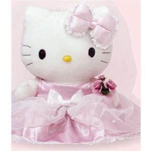 ウエイトドール ハローキティ ウエディング キティ 結婚式 披露宴 ウェディング ブライダル 両親 プレゼント 出産祝い|lotus-bear