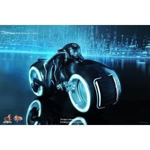 ホットトイズ ムービー・マスターピース 1/6スケール ライトアップ機能付きビークル「トロン・レガシー」ライト・サイクル&サム・フリン|lotus-bear