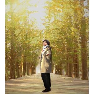 ペ・ヨンジュン 冬のソナタ〜並木道 アール・グラージュ絵画|lotus-bear