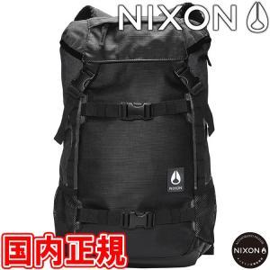 ニクソン ランドロック3 バックパック ブラック NIXON LANDLOCK III BACKPA...