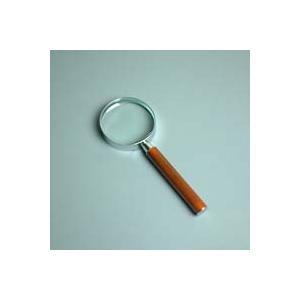 ルーペ 拡大鏡 手持ちルーペ 虫眼鏡 虫めがね 天眼鏡 デラックスルーペ 1321 3倍 65mm|loupe