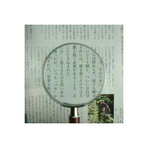 ルーペ 拡大鏡 手持ちルーペ 虫眼鏡 虫めがね 天眼鏡 デラックスルーペ 1331 2.5倍 75mm|loupe