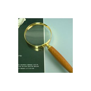 ルーペ 拡大鏡 手持ちルーペ 虫眼鏡 虫めがね 天眼鏡 ゴールドルーペ 1436 2.5倍 75mm|loupe