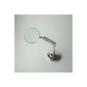 スタンドルーペ 虫眼鏡 スタンド ルーペ 卓上 拡大鏡 スタンド式 小型スタンドルーペ 1600 3.5倍 45mm ルーペ スタンド|loupe