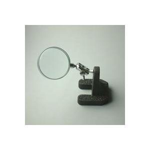 スタンドルーペ 虫眼鏡 スタンド ルーペ 卓上 拡大鏡 スタンド式 小型スタンドルーペ 1610 3.5倍 50mm|loupe