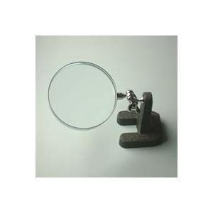 スタンドルーペ 虫眼鏡 スタンド ルーペ 卓上 拡大鏡 スタンド式 小型スタンドルーペ 1630 2.5倍 75mm ルーペ スタンド|loupe