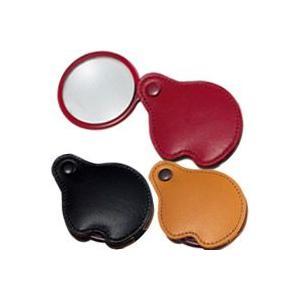 ルーペ ポケットルーペ 3123 3.5倍 45mm 携帯用虫眼鏡 本革製 池田レンズ|loupe