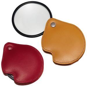 ルーペ ポケットルーペ 3125 3倍 65mm 携帯用虫眼鏡 本革製|loupe